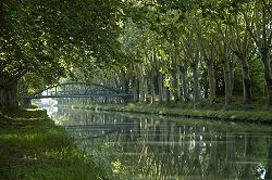 france painting and photography holiday canal laterale a la garonne