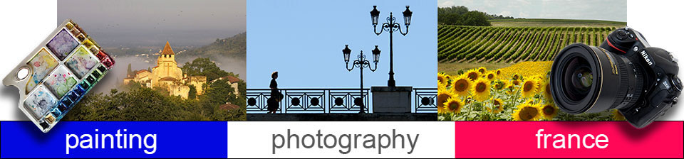 Painting and Photography Holidays Vacations Workshops header