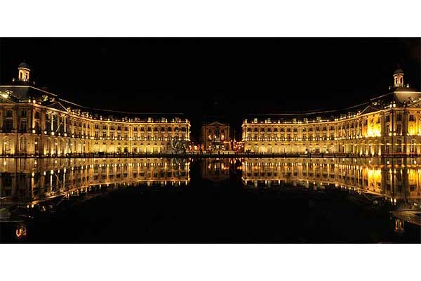 Place de la Bourse by night - Photography holiday, vacation, workshop near Bordeaux